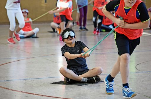 Für Spaß am Sport braucht es kein Augenlicht
