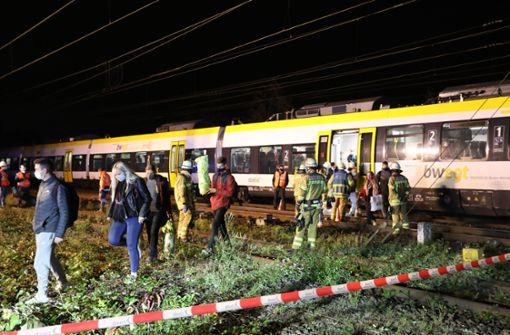 132 Menschen aus Zug evakuiert