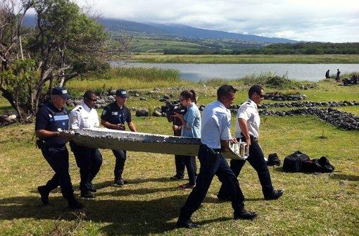 Wrackteil könnte von Flug MH370 stammen