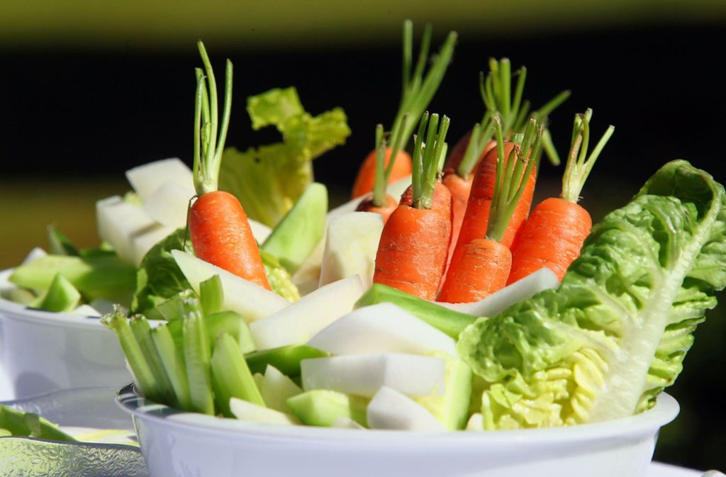 Ernährungsexperten empfehlen mehr Grünzeug – und weniger Fleisch. Foto: dpa