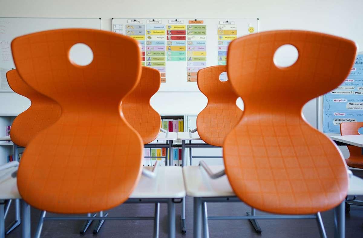 Im Kreis Göppingen mussten gleich fünf Schulen wegen positiver Corona-Tests geschlossen werden. Foto: dpa/Uwe Anspach