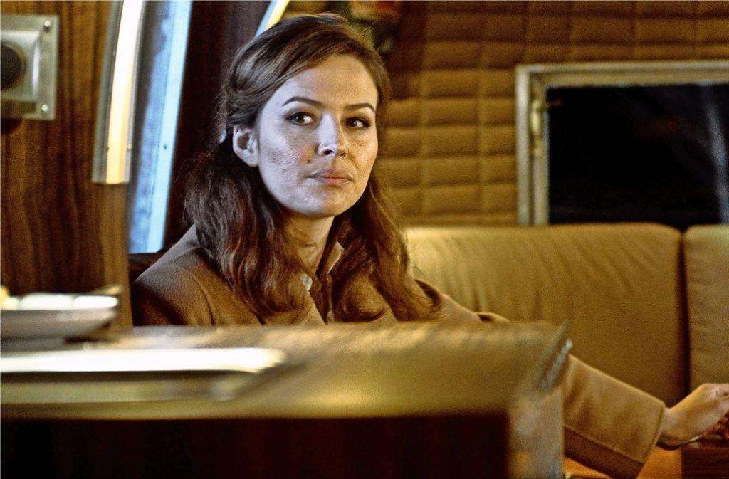 Die junge Anwältin (Katrin Bauerfeind) glaubt fest daran, dass das Verbrechen nicht siegen darf. Foto: ARD
