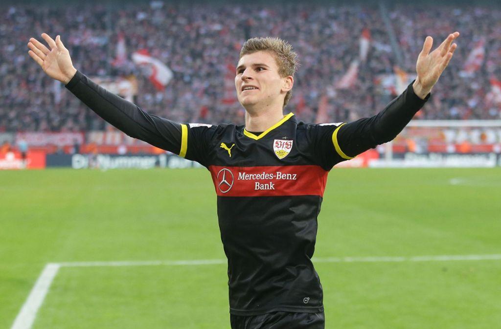 Timo Werner ist der wertvollste Spieler, der in den vergangenen Jahren beim VfB Stuttgart gespielt hat. Foto: Pressefoto Baumann/Hansjürgen Britsch