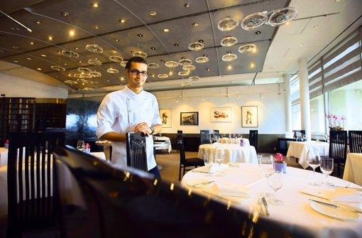 Geht gerne bis an die Grenzen: der neue Küchenchef Marco Akuzun. Foto: Michael Steinert