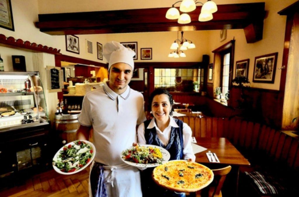 Im Il Pomodoro dominieren die Klassiker der italienischen Küche. Foto: Achim Zweygarth