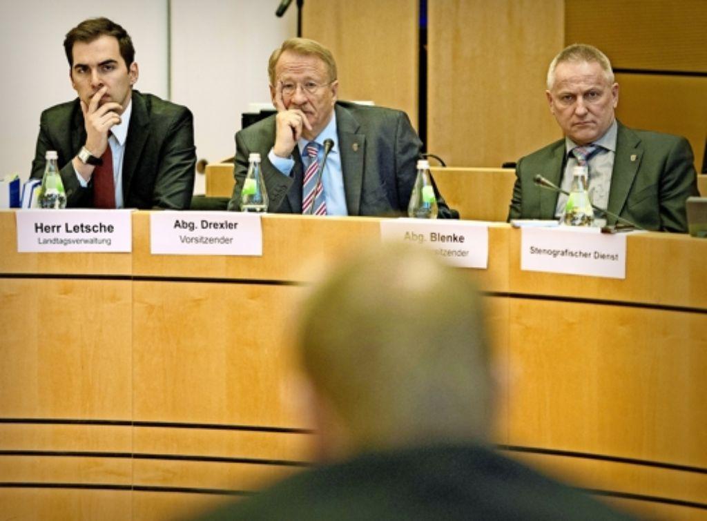 Zeugen vernehmen, Akten wälzen – der NSU-Ausschuss des Landtags (hier beim Auftakt im Stuttgarter Rathaus) stellt Ermittlungsarbeit auf den Prüfstand. Foto: Archiv