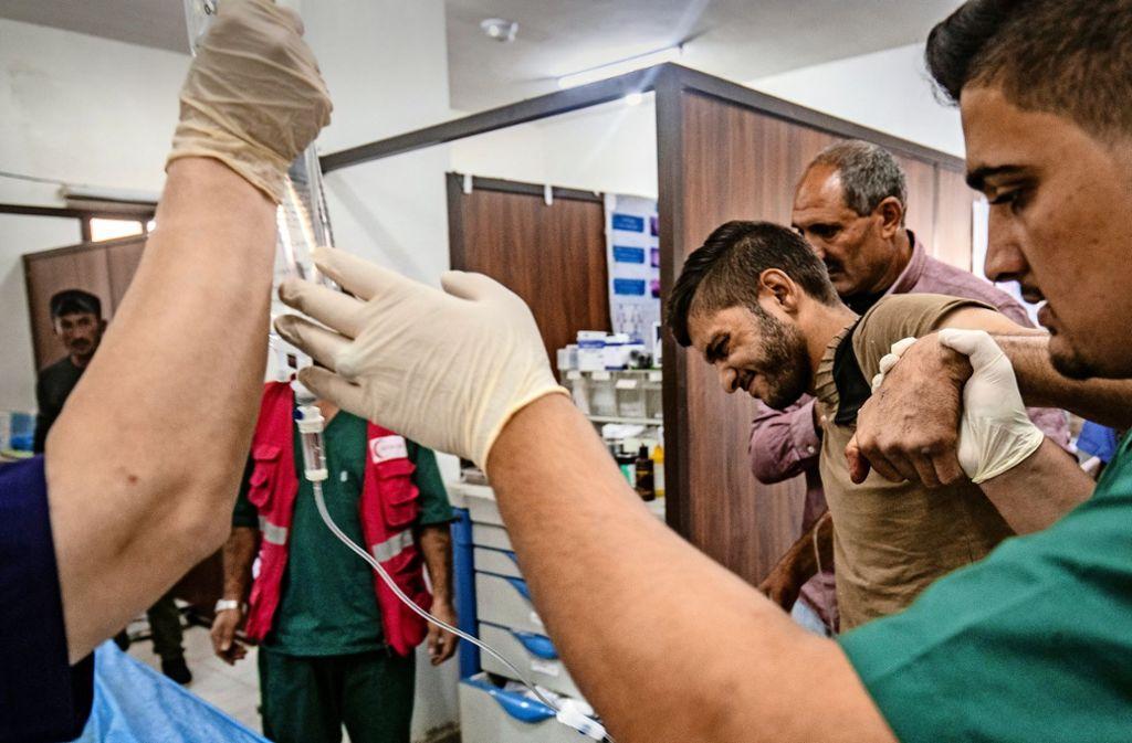 Gezielte Gewalt gegen Ärzte ist in syrischen Krankenhäusern Alltag.Foto:AFP Foto: