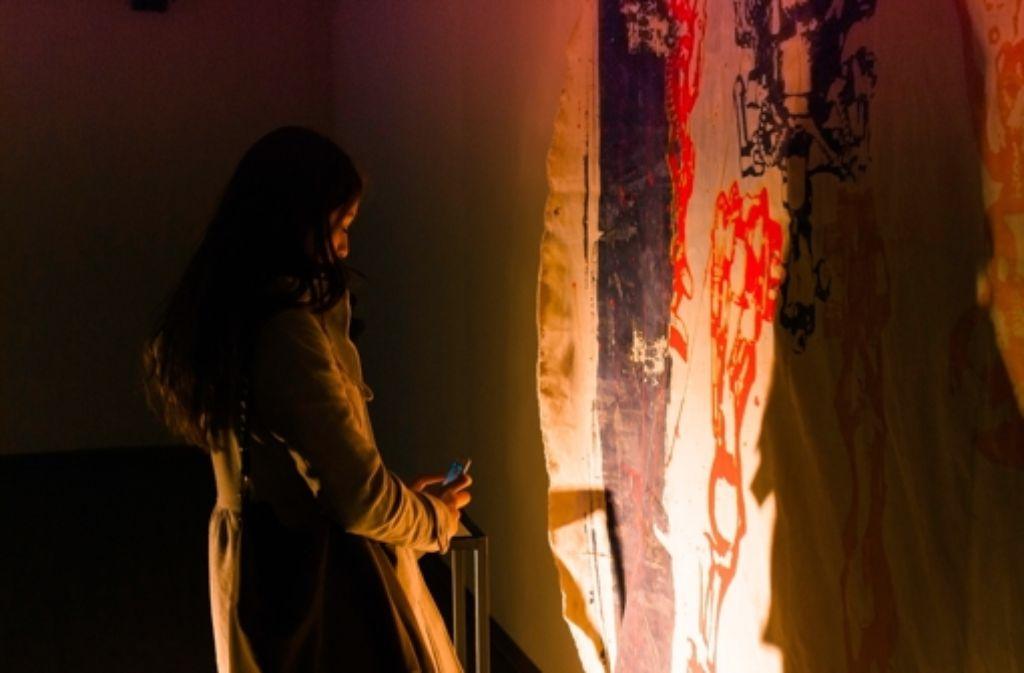 Installation und Graffiti – im Zollamt gibt's Kunst an allen Ecken. Foto: Dimitri  Reimer