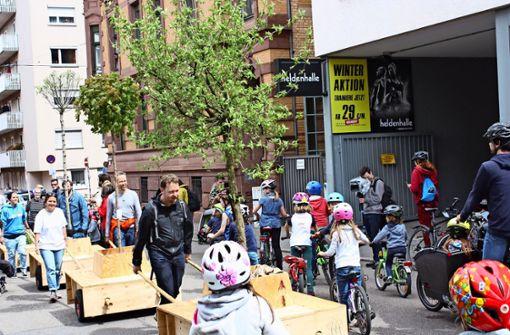 Mobiler Baumbestand für Städter