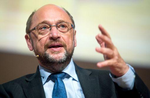 Martin Schulz zeigt sich in Stuttgart angriffslustig