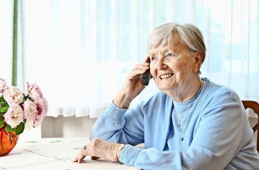 Telefonieren gegen die Einsamkeit