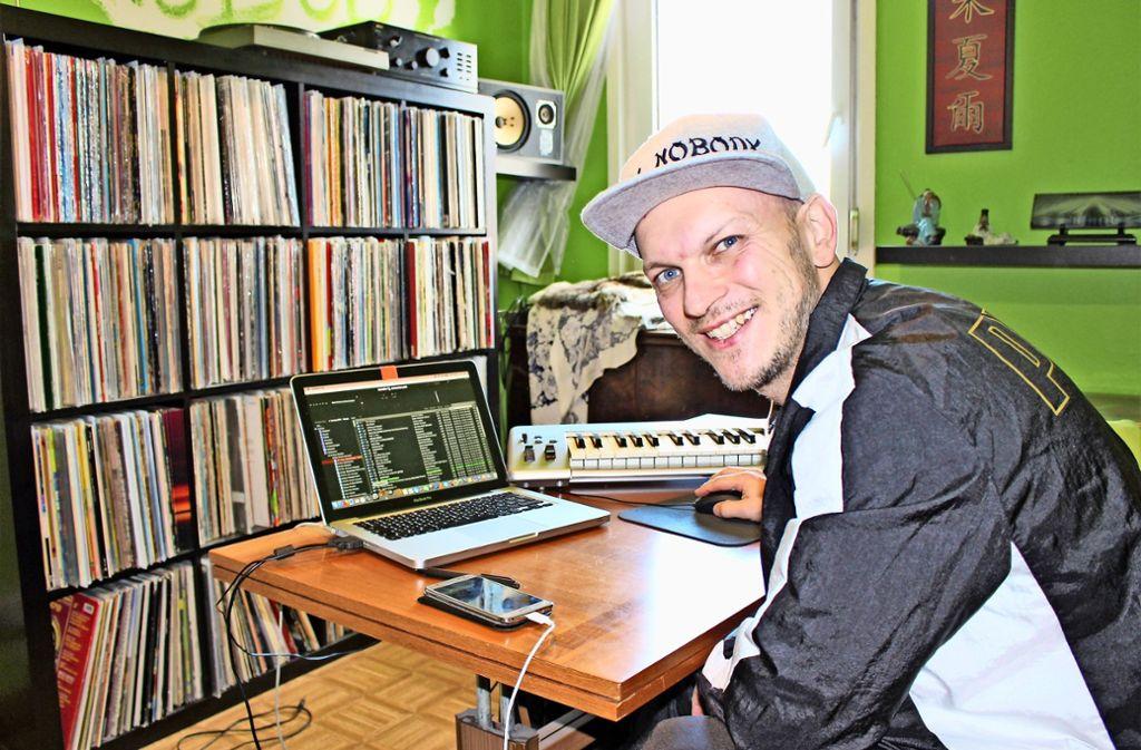 """Daniel Nuding bezeichnet sich selbst als """"Breaker in Rente"""". Foto: Caroline Holowiecki"""