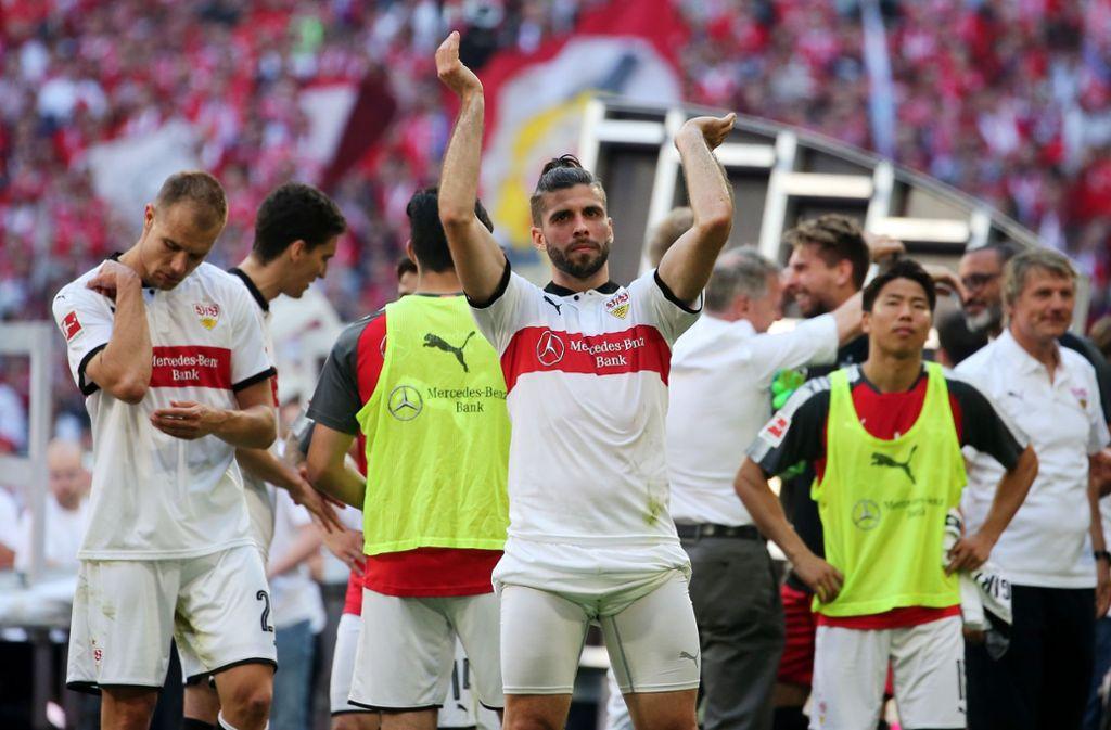 Emiliano Insua bleibt für mindestens zwei weitere Jahre beim VfB Stuttgart. Foto: Pressefoto Baumann