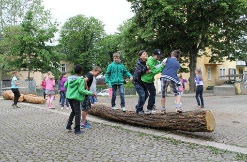 Schüler freuen sich über schöneren Hof