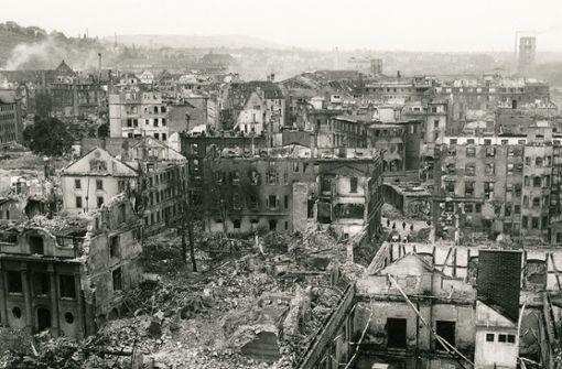 Als das alte Stuttgart im Bombenregen unterging