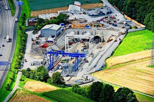 Die Bahn baut. Aber auf den Fildern gibt es noch planungsrechtliche Hürden für Stuttgart 21. Foto: DB
