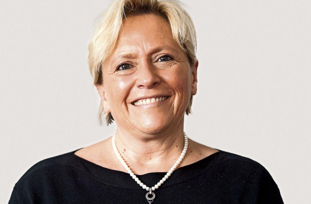 Die Kultusministerin Susanne Eisenmann bekennt sich zum Lehrermangel. Foto: dpa