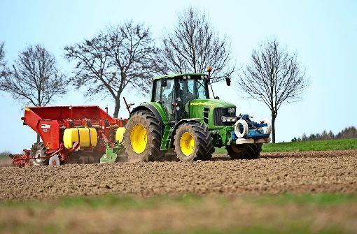 Landwirte müssen die Feldwege sauber halten