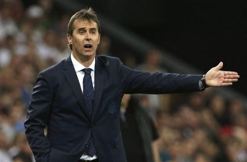 Spanien wirft Trainer Julen Lopetegui raus