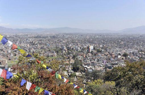 Mount Everest von Kathmandu aus zu sehen