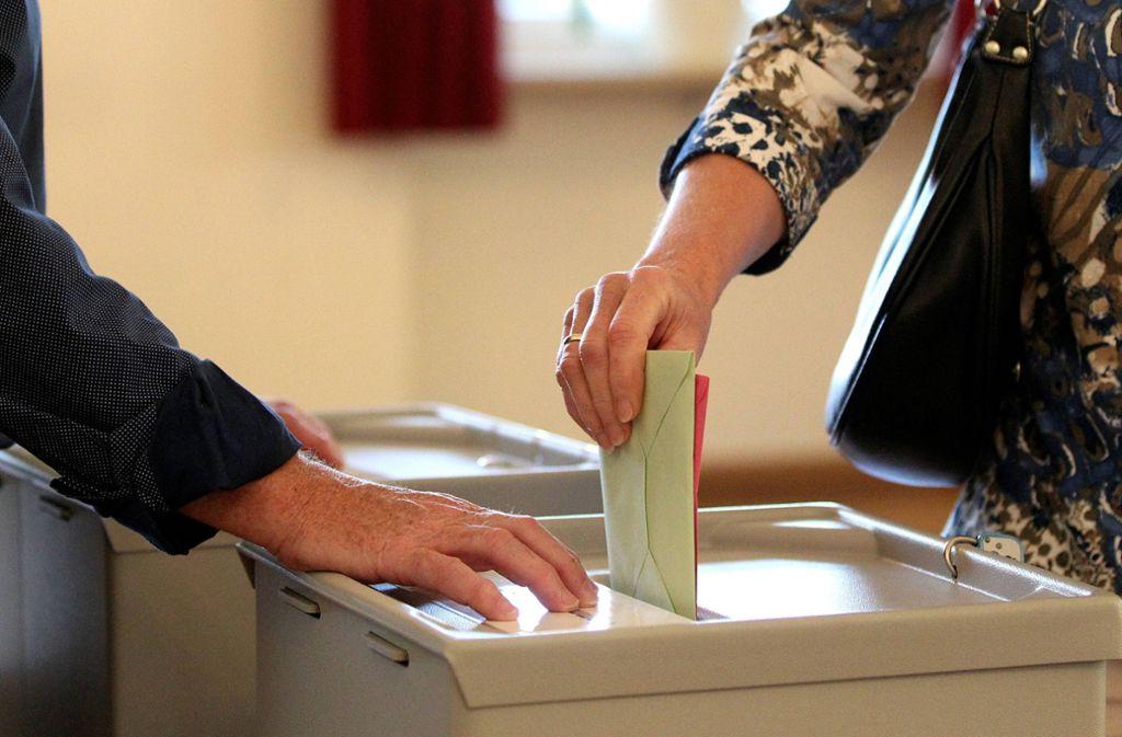 Jux-Kandidaturen erschweren eine Wahl, sagt der Verband baden-württembergischer Bürgermeister. (Symbolbild) Foto: imago images/Eibner//Daniel Fleig