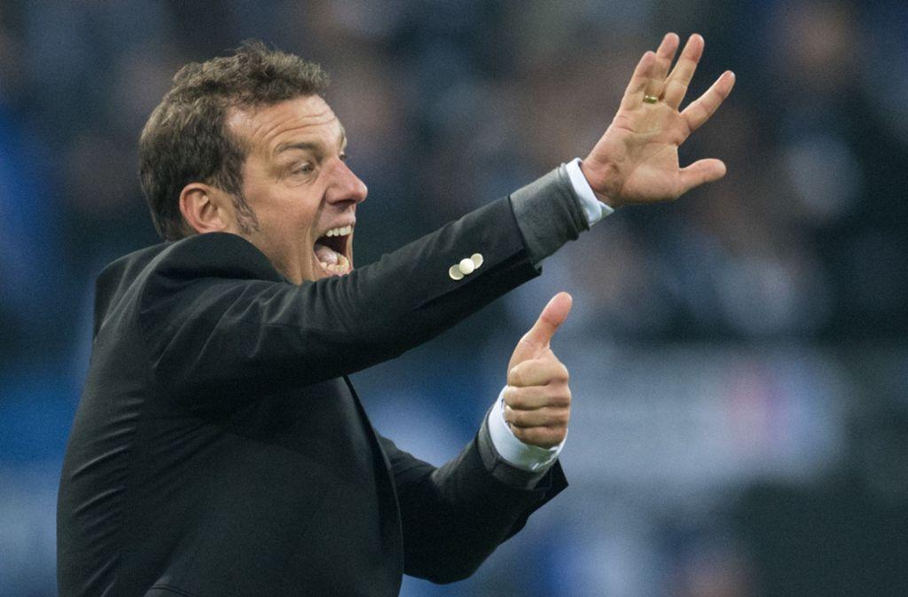 Erstes Training am Mittwoch: der neue Trainer des VfB Stuttgart, Markus Weinzierl. Foto: dpa