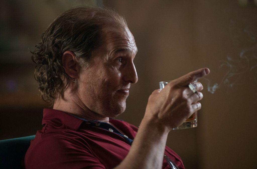 """Typische Pose: Matthew McConaughey in """"Gold"""" Foto: Verleih"""