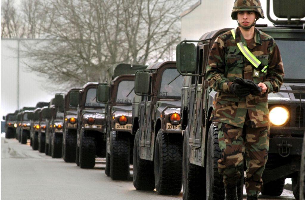 In der US-Kaserne in Böblingen sind Waffen gestohlen worden. (Symbolfoto) Foto: dpa