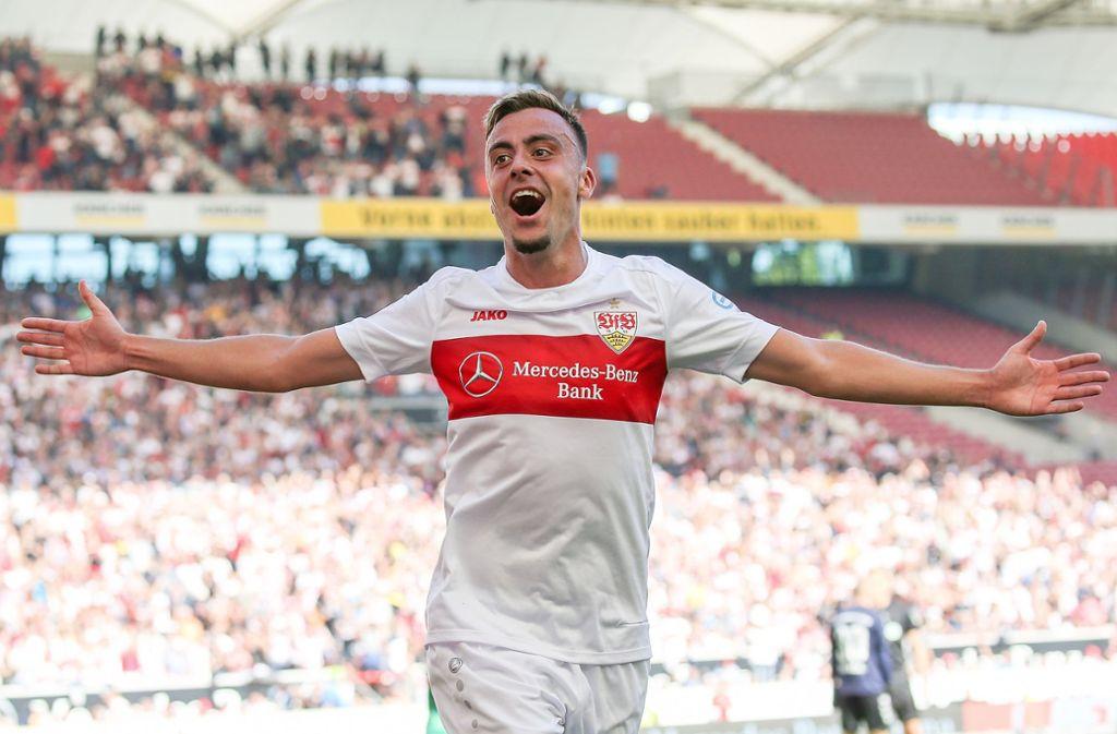 Philipp Förster hat seit seinem Wechsel zum VfB Stuttgart voll überzeugt. Foto: Baumann