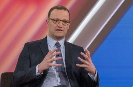 Gesundheitsminister will seine Eltern nicht selbst pflegen