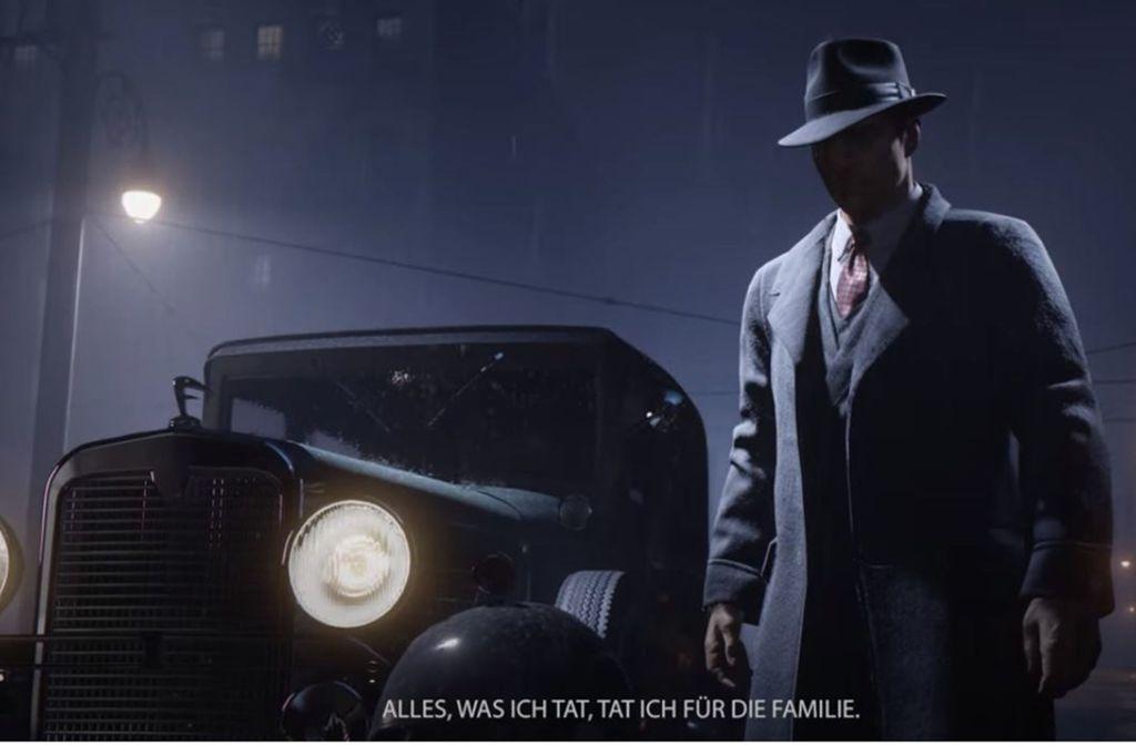 """Mit einem Teaser-Trailer kündigte 2K die """"Mafia Triology"""" an. Durch ein Leak wenig später wurde das Remake bekannt. Foto: Screenshot/2K Germany"""