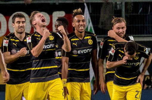 Dortmund souverän, Eintracht cool