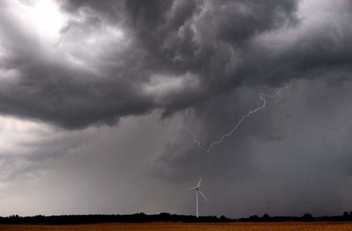Gewitter und Starkregen kündigen sich an