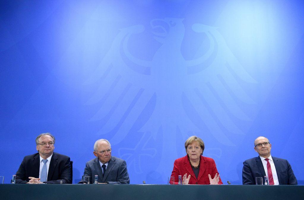 Die Bundesregierung und die Ministerpräsidenten einigten sich im vergangenen Oktober auf die Grundzüge der Finanzreform. Der Bundestag hat daran wenig geändert. Foto: dpa