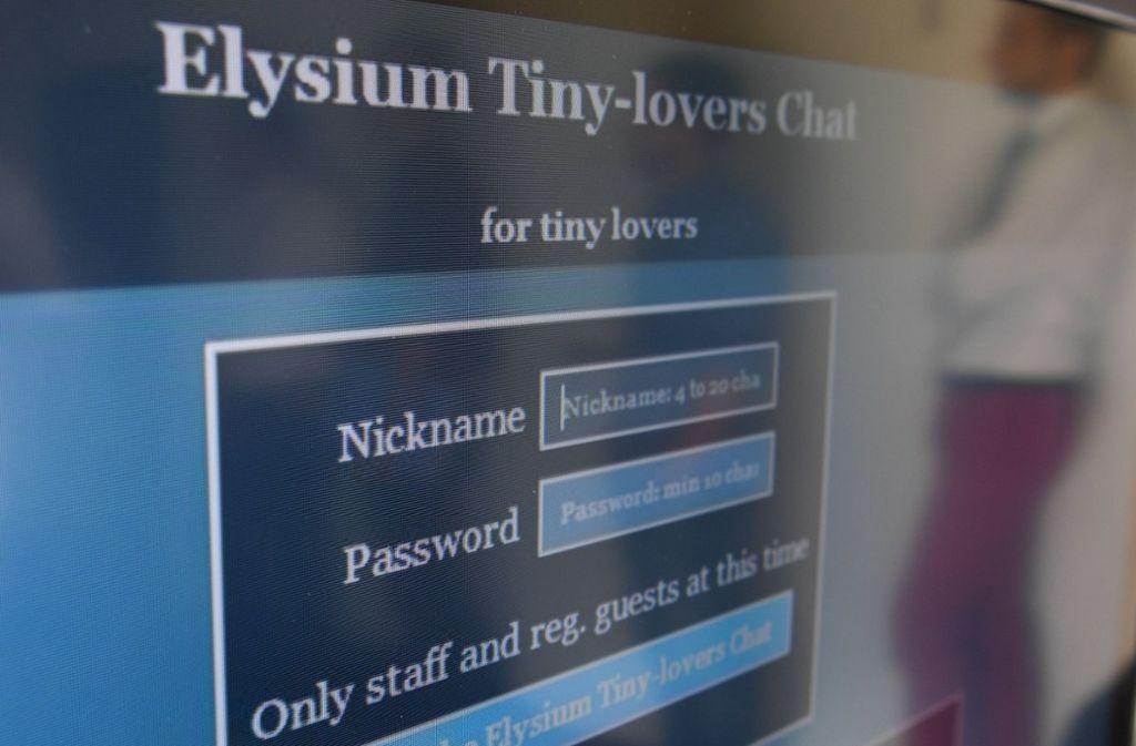 """Mehr als 100.000 Nutzer hatte die Kinderporno-Plattform """"Elysium"""" Foto: dpa"""