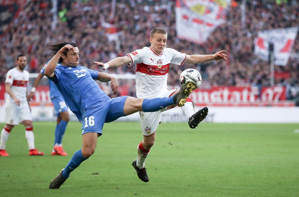 Santiago Ascacibar wird dem VfB Stuttgart im Spiel bei Eintracht Frankfurt fehlen. Foto: Bongarts