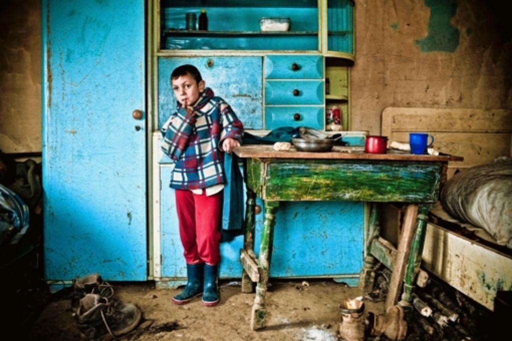 Gusti wenige Tage vor seiner Augen-Operation Foto: Andreas Reiner
