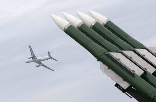 Abschuss durch Buk-Rakete
