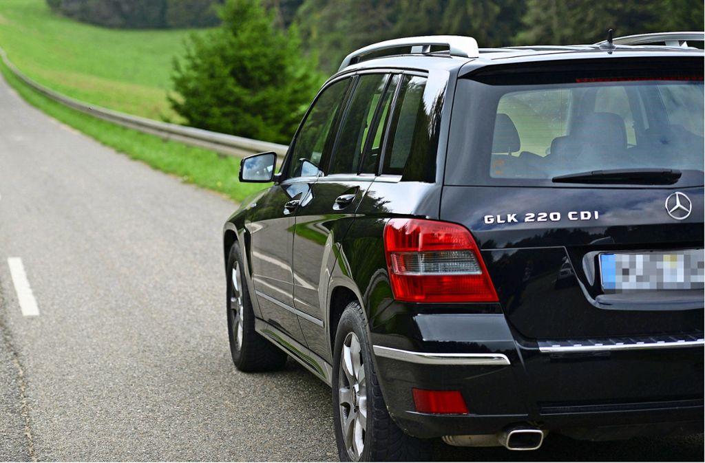 Die Manipulation soll bei dem Modell Mercedes-Benz GLK 220 CDI mit der Abgasnorm 5 vorgenommen worden sein. Foto: dpa