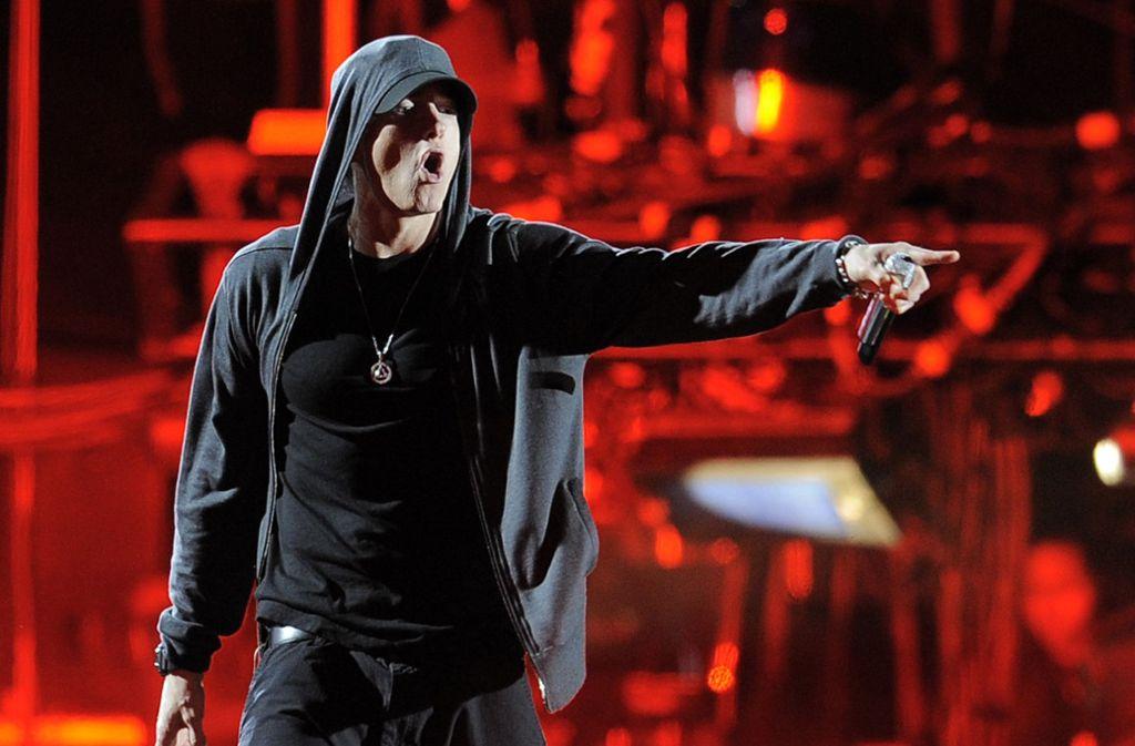 Der US-Rapper Eminem hat überraschend ein neues Album rausgebracht. Foto: dpa/Chris Pizzello