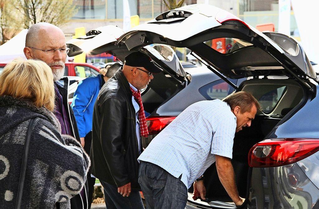 Was ist angesagt? Die Aussteller freuen sich schon, den Besuchern der Autoschau die neuesten Trends vorzustellen. Foto: Hans Jörg Ernst