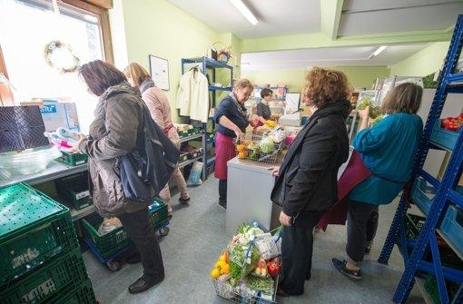 Die Tafeln in Baden-Württemberg rechnen mit einer deutlichen Zunahme von Bedürftigen in diesem Jahr. Foto: dpa
