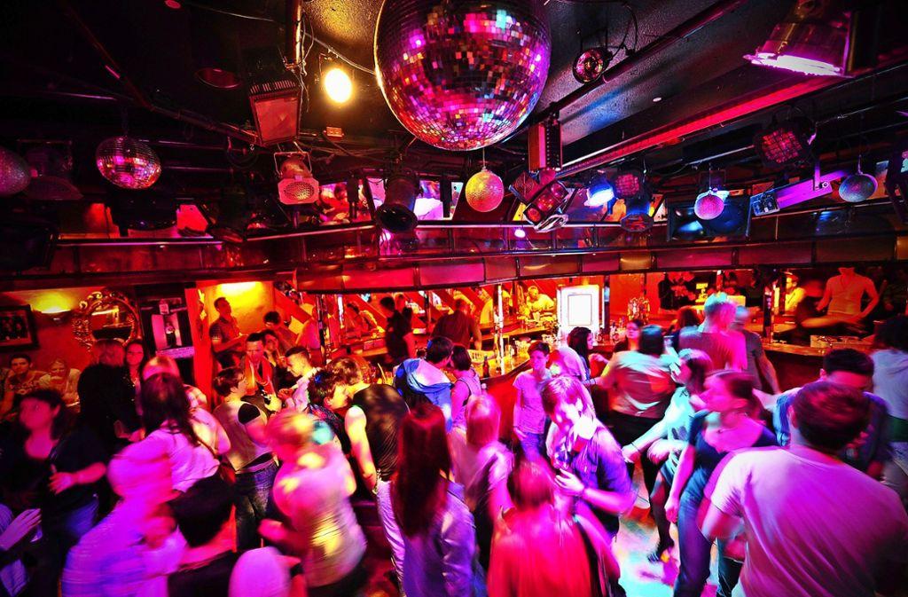 Blick in den Kings Club, der 1977  eröffnet wurde und  mit der Boa die älteste Disco von Stuttgart ist Foto: dpa/Jan-Philipp Strobel