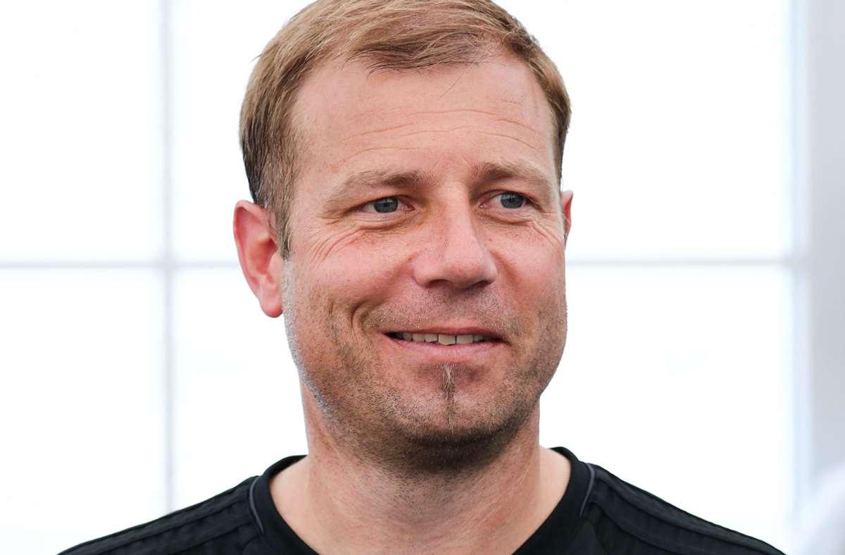 Der 48-jährige Frank Kramer erhält bei Arminia Bielefeld einen Vertrag bis zum 30. Juni 2023. Foto: dpa/Christian Charisius
