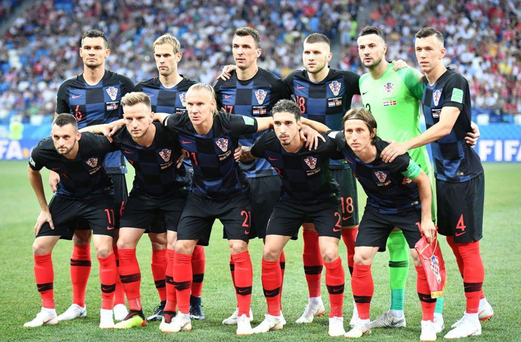 Die kroatische Nationalmannschaft schlägt sich bei der WM sportlich gut. Für falsche Getränke muss der Verband jetzt aber Strafe zahlen. Foto: xinhua