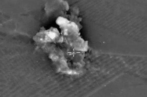 Russische Raketen schlagen im Iran ein