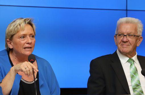 Kretschmann gegen Eisenmann – Ein TV-Duell auf Augenhöhe