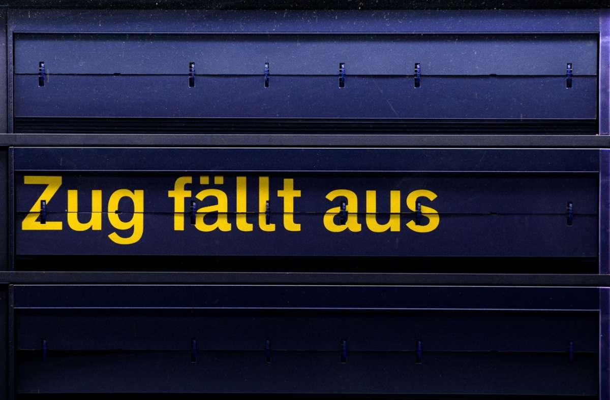 Streik bei der Deutschen Bahn: Wie Sie ihr Geld ...