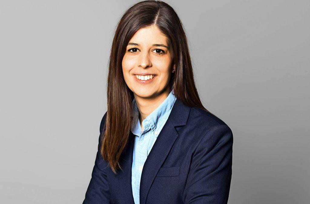 Johanna Forster, 28 Jahre jung, ist Stadt- und Kreisrätin der CDU. Foto: Foto-Kurz Imaging GmbH
