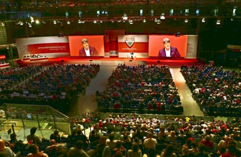 Mitgliederversammlung mit Folgen: VfB-Präsident Bernd Wahler (Foto) hat es künftig mit einem stark dezimierten Kontrollgremium zu tun. Foto: